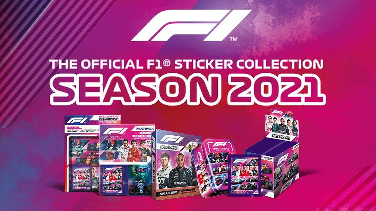 TOPPS F1 Sticker 2021 - Header