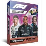 TOPPS F1 Sticker 2021 - Value Box UK
