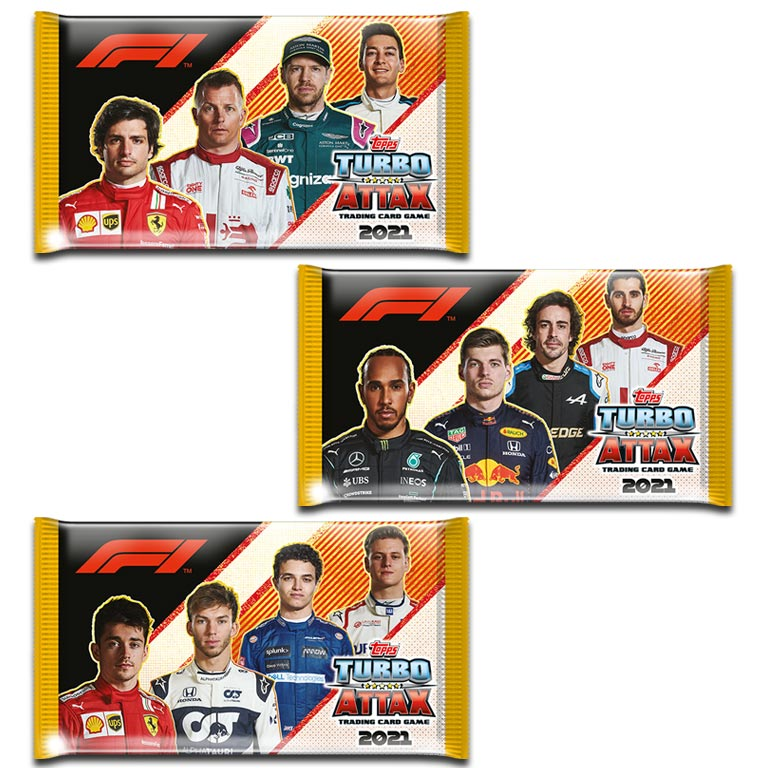TOPPS Turbo Attax 2021 - Booster Pack
