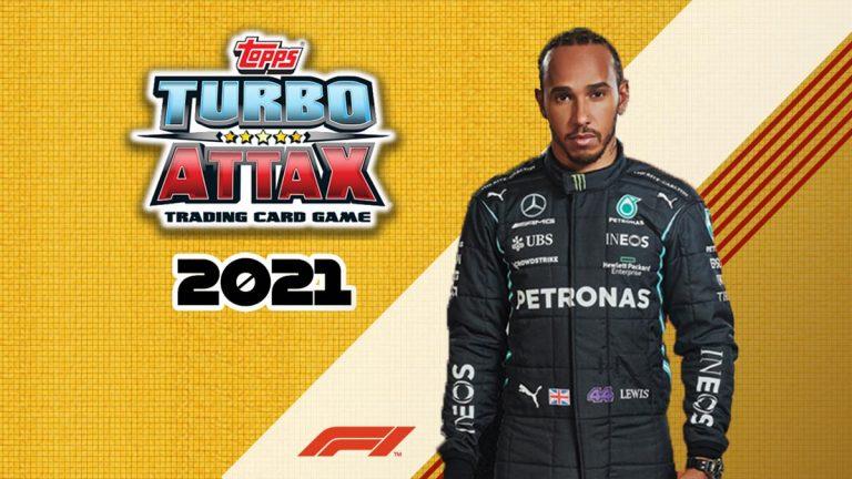 TOPPS Turbo Attax 2021 - Header
