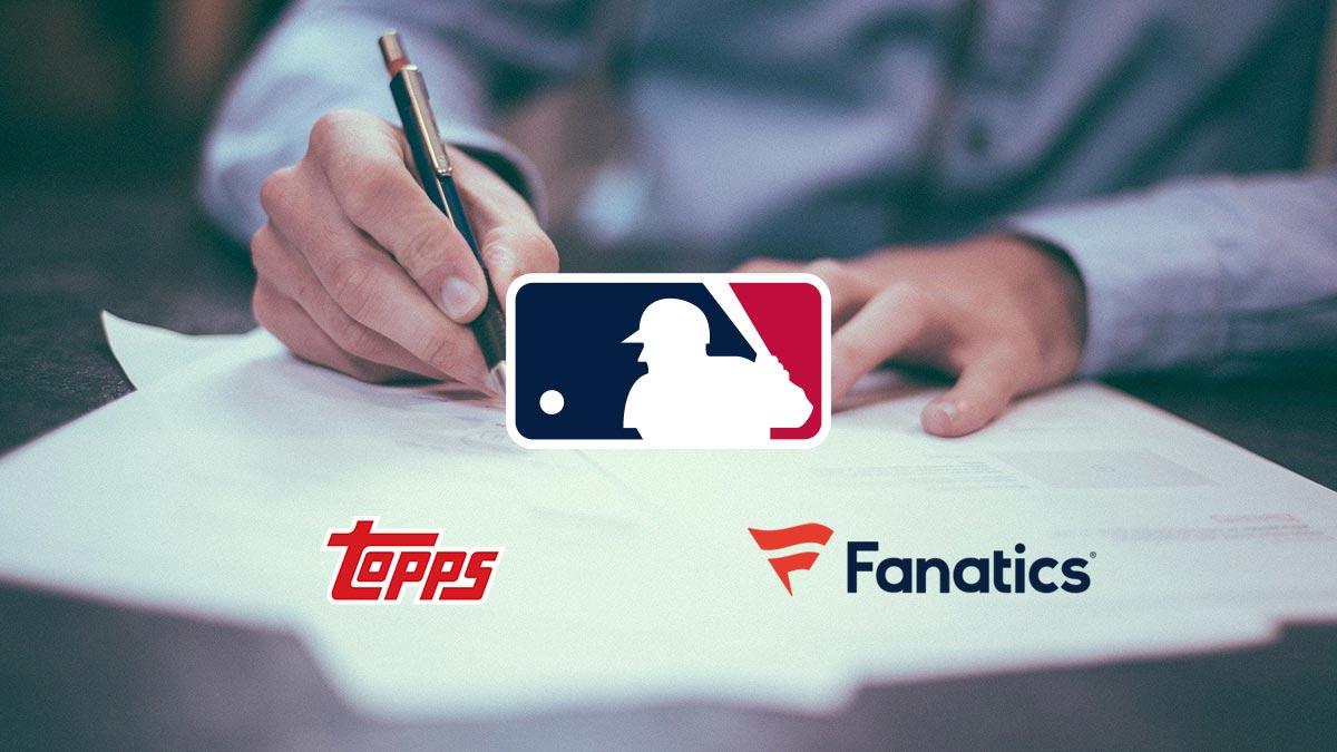 MLB License Deal Topps Fanatics - Header